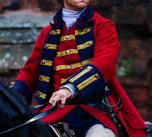 "Outlander's Tobias Menzies on Preparation and the ""Most Precious Commodity"" of Filmmaking"