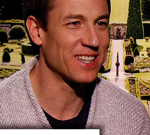 Outlander's Tobias Menzies Accepts Black Jack's March BADness Win