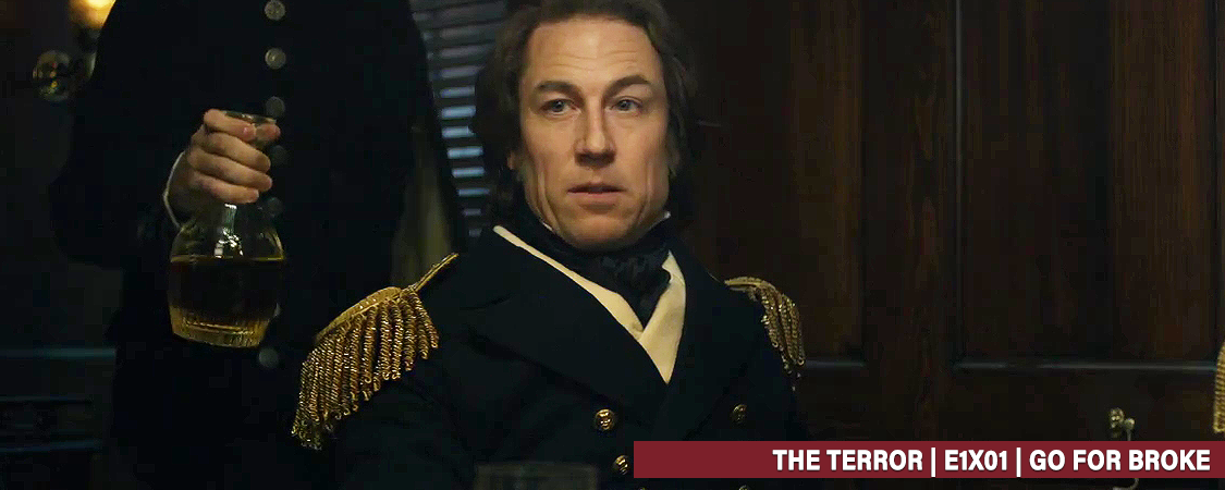 """The Terror"" – E1X01 Go For Broke HD Screencaps"