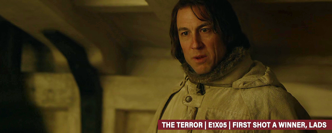 """The Terror"" – E1X05 First Shot A Winner, Lads HD Screencaps"