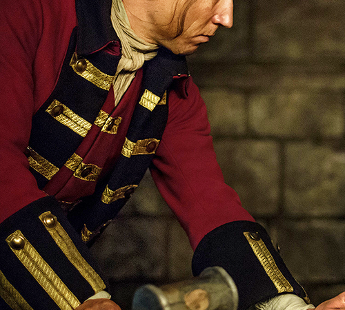 'Outlander' star Tobias Menzies on filming the controversial scene: 'It's about Black Jack wanting to break Jamie'