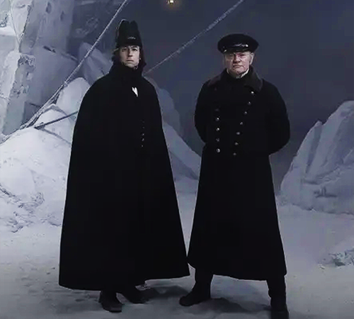 Mutiny, cannibalism, monsters… Tobias Menzies and Jared Harris on why new drama The Terror is a far cry from The Crown