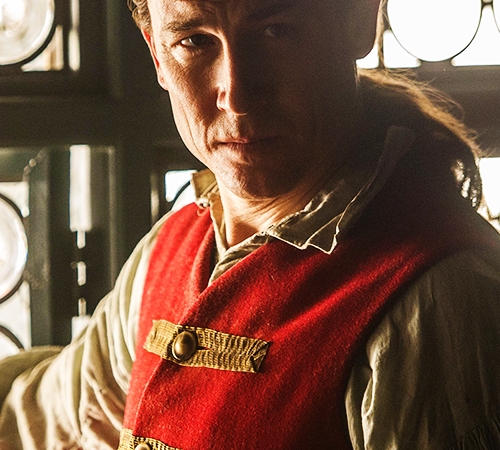 For 'Outlander' actor Tobias Menzies, twice the work translates to double the fun, antics