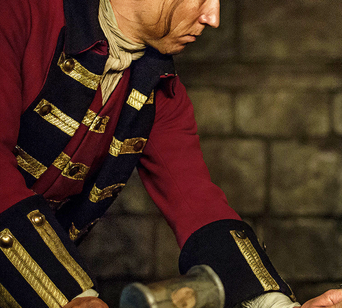 'Outlander' Q. and A.: Tobias Menzies on Playing the Brutal Black Jack