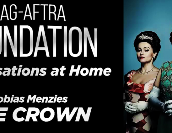 """Tobias On """"The Crown"""" During SAG Conversations From Home Series"""